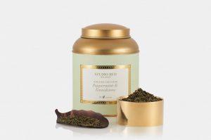 studio red wellness tea - mint tin