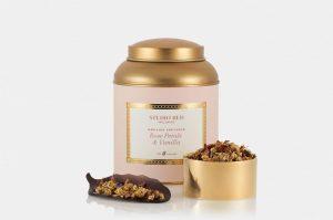 Studio red wellness tea - pink tin